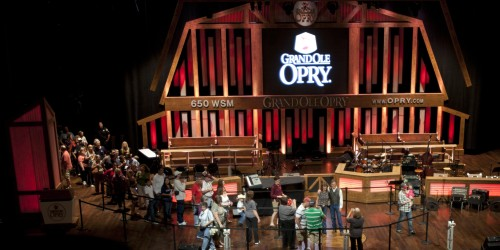 Grand Ole Opry!  Carrie Underwood, Charlie Daniels