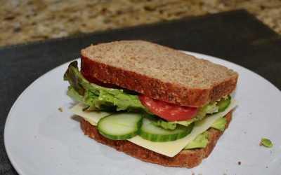 Ode to the Sandwich- Veggie on Wheat Berry Bread