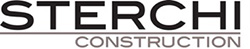 Sterchi construction logo blackgray final