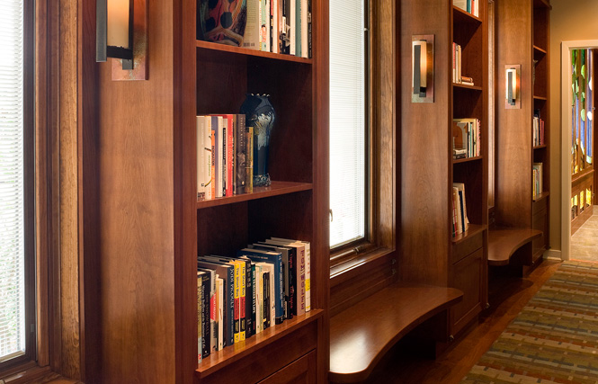 Donnelly hallway bookcases web