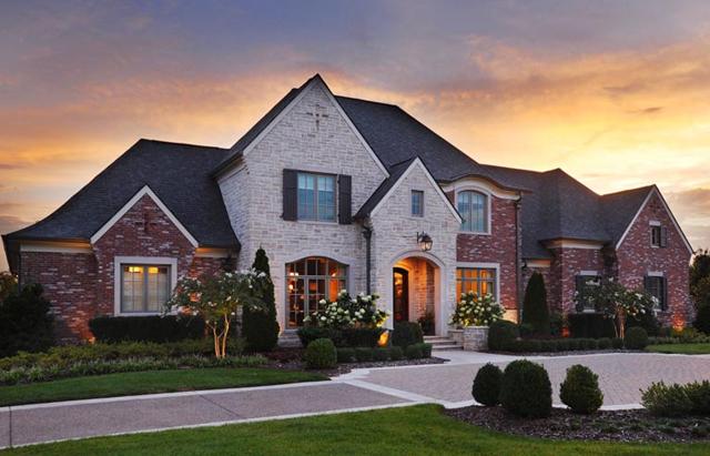 Custom Home Front Elevation : Castle homes southern living custom builder