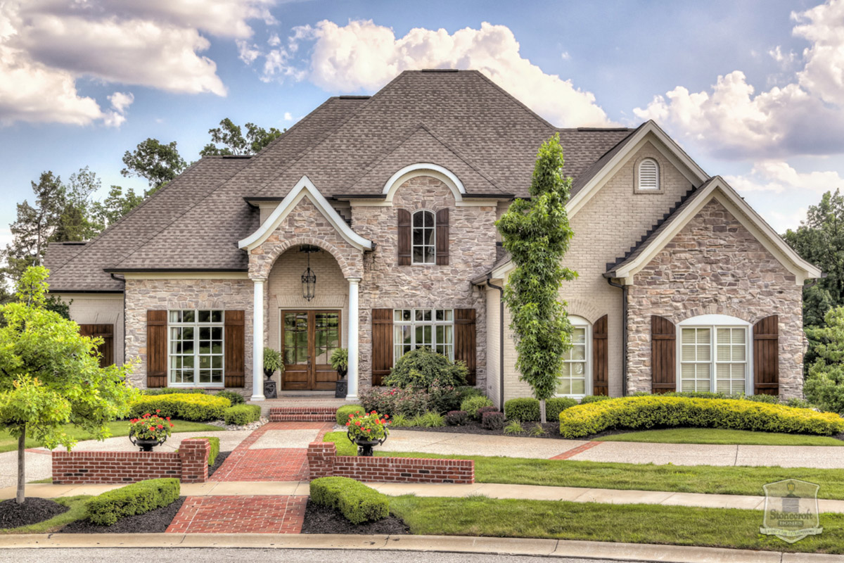 Stonecroft homes southern living custom builder for Modern southern homes