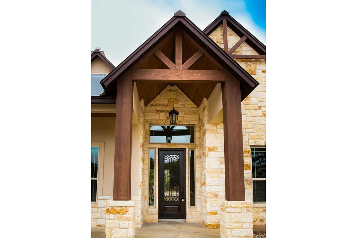 Copper ridge porch