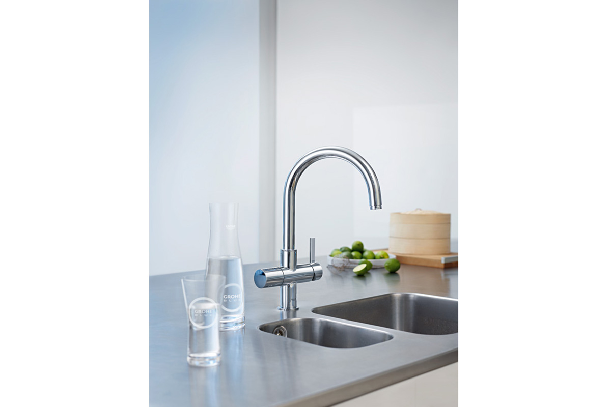 New   grohe blue chilled and sparkling 31 251 001