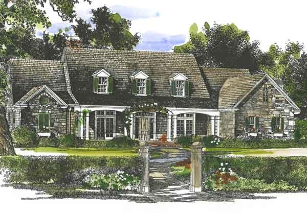 new oxford southern living house plan - home design and style