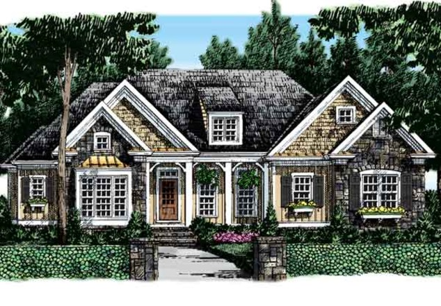 Chestatee frank betz associates inc southern living for House plans frank betz