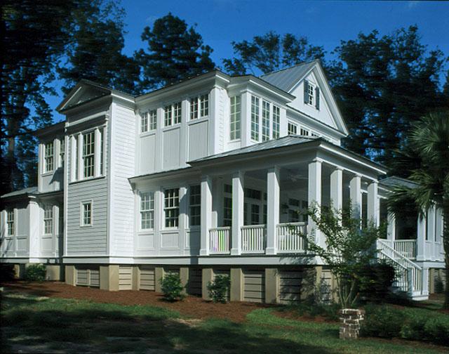 Carolina island house coastal living southern living for House plans coastal living