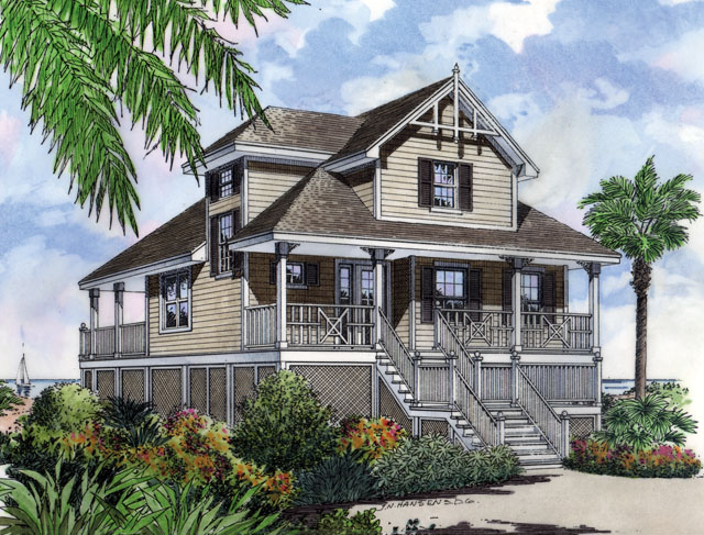 Front Color Rendering