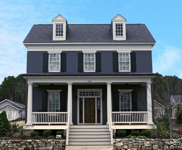 Green haven southern living house plans for Green living house plans