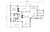 Alternate Main Level Floor Plan