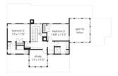 Alternate Upper Level Floor Plan