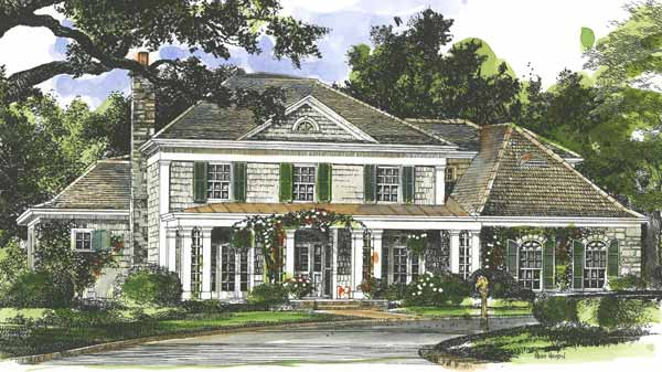 New Willow Grove John Tee Architect Sunset House Plans