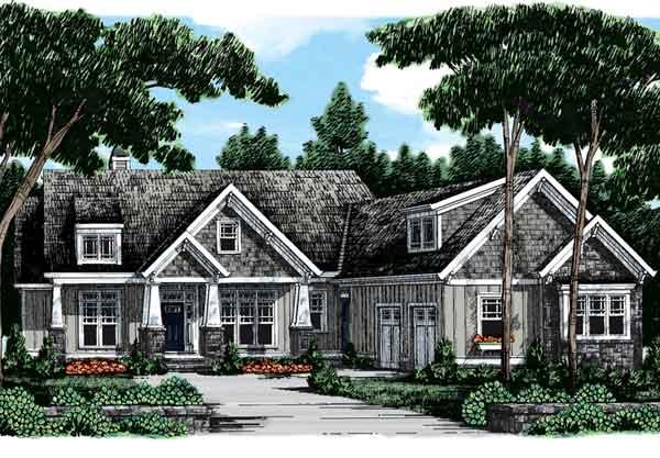 Braxtons creek frank betz associates inc southern for Southern craftsman house plans