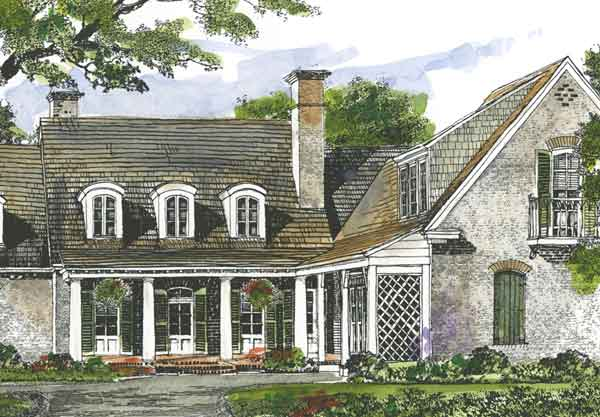 Sabine River Cottage John Tee Architect Print