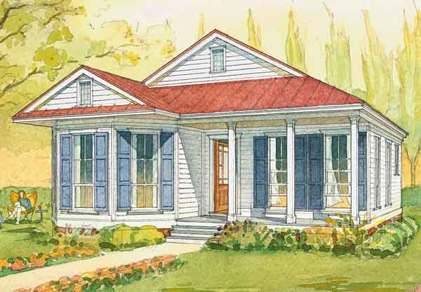 cottage andy mcdonald design group southern living house plans