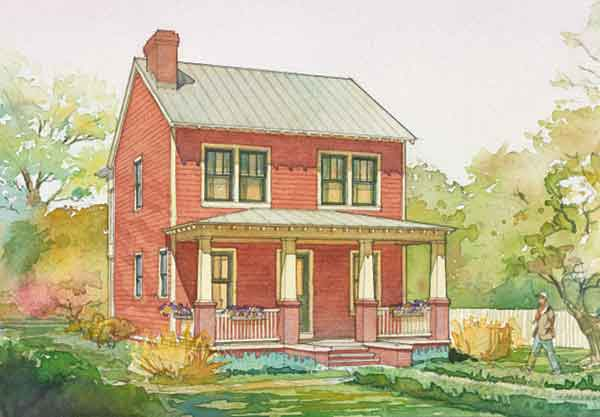 Edgemoor Cottage Cottage Living Sunset House Plans