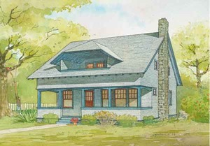 craftsman house plans southern living house plans