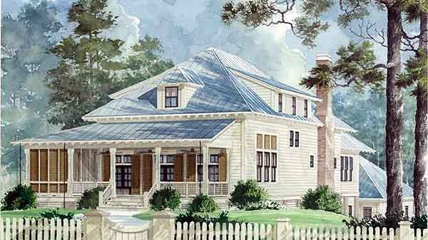 Sandy Hook Cottage - Benjamin Showalter | Sunset House Plans