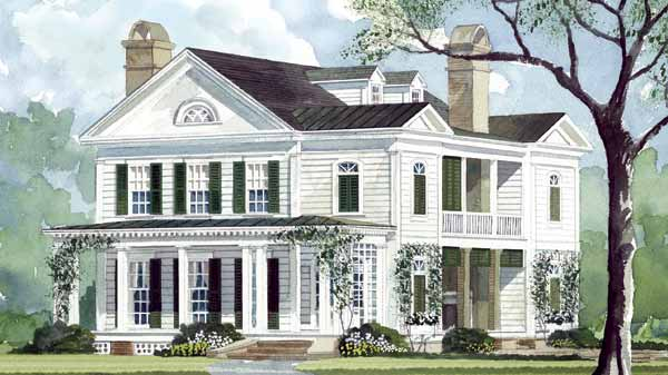 Southern Living Magazine Home Plans - Interior Design