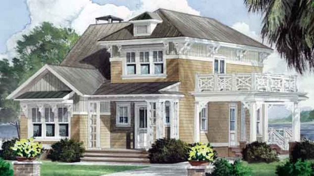 Southern Living House Plans Italianate