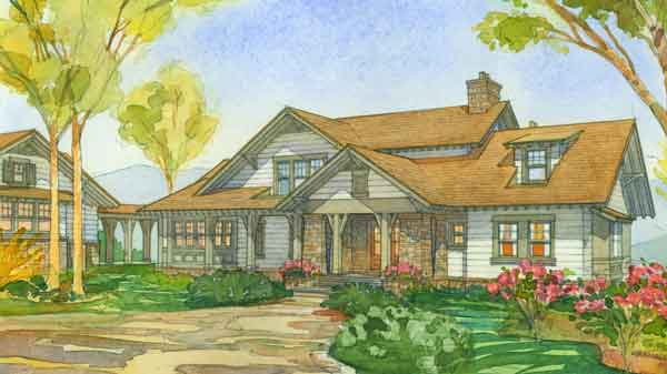 Stephen fuller house plans stephen fuller designs simply for Sunset house plans