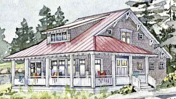 Barrier island getaway coastal living southern living for Coastal living house plans