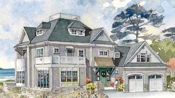 Maine idea house coastal living southern living house for Coastal living house plans