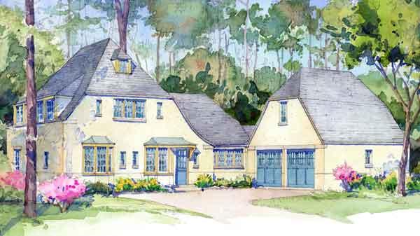 Brookside Cottage Devlin Architecture Sunset House Plans