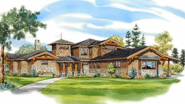 Northern Lodge Ken Pieper And Associates Llc Sunset