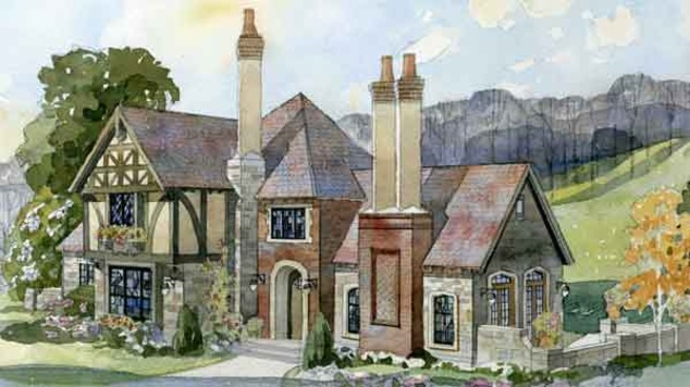 Southern living house plans english tudor house plans for English tudor cottage house plans