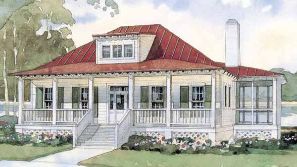 Top 10 house plans coastal living for Seaside cottage plans