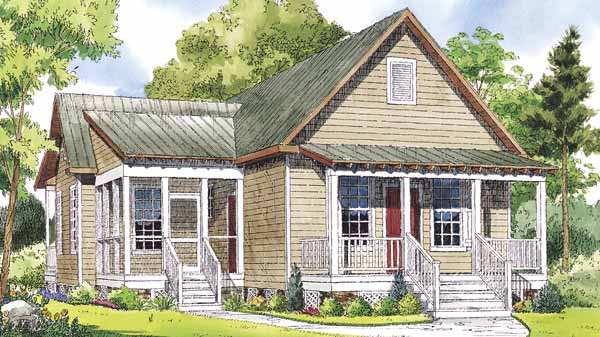 Walnut Cove William H Phillips Sunset House Plans