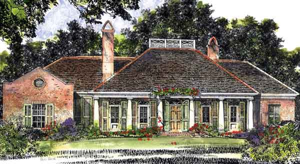 Hitherwood John Tee Architect Sunset House Plans