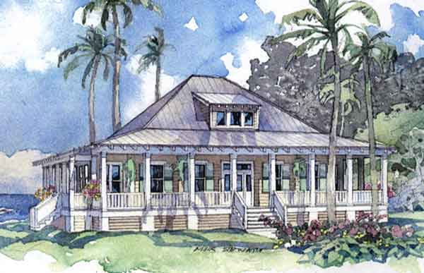 Shoreside homestead allison ramsey architects inc for Beach house plans southern living