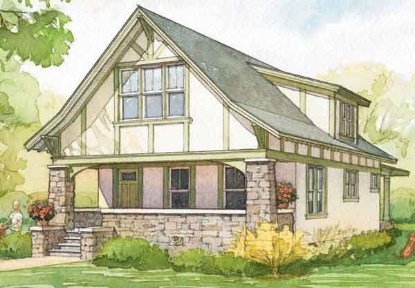 Gracie cottage 180 design studio llc southern living for Southern cottage style house plans