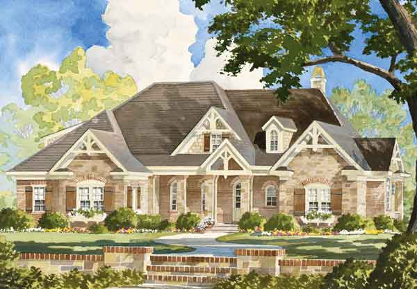 Magnolia springs frank betz associates inc southern for Frank betz home designs