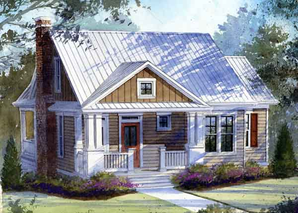 Hookset hideaway caldwell cline architects southern for Southern country house plans