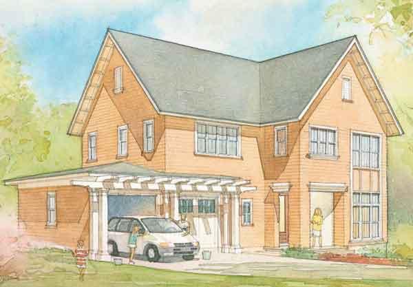 Carlton Cottage Cottage Living Sunset House Plans