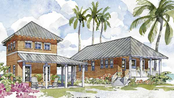 Island oasis coastal living southern living house plans Coastal living house plans