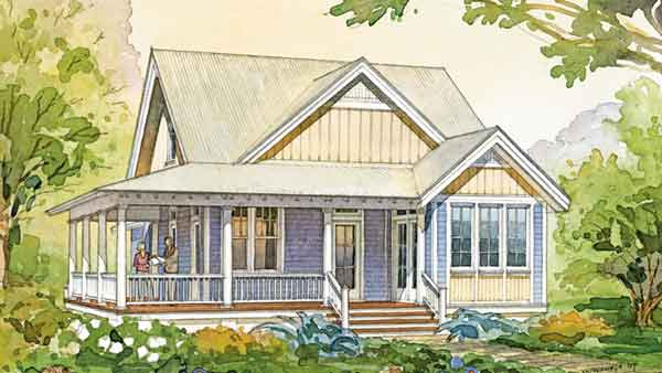white picket fences floor plan friday cove cottage