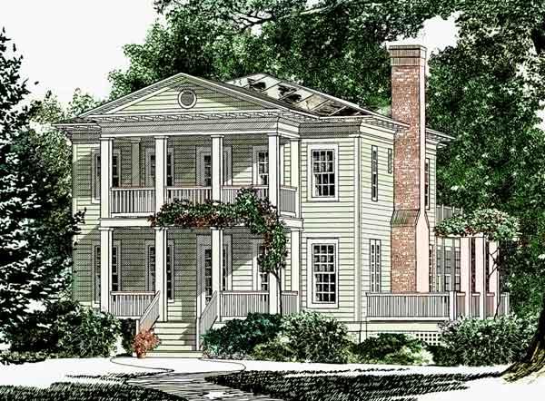 Drennen Park Cottage Living Sunset House Plans