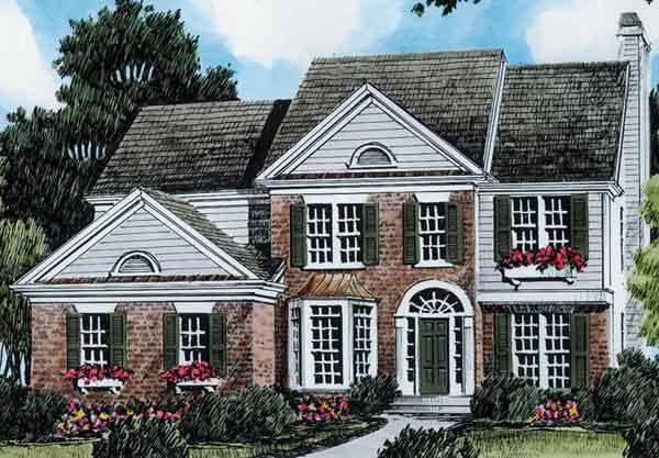 Adamsville Frank Betz Associates Inc Sunset House Plans