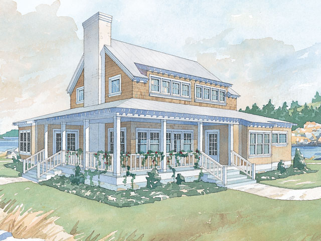 Whitefish Retreat Coastal Living Southern Living House