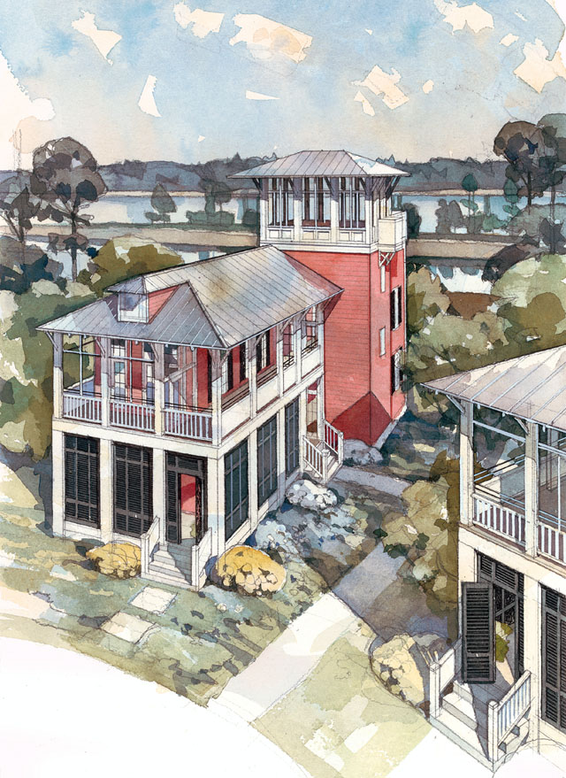 Waterview Cottage Coastal Living Southern Living House