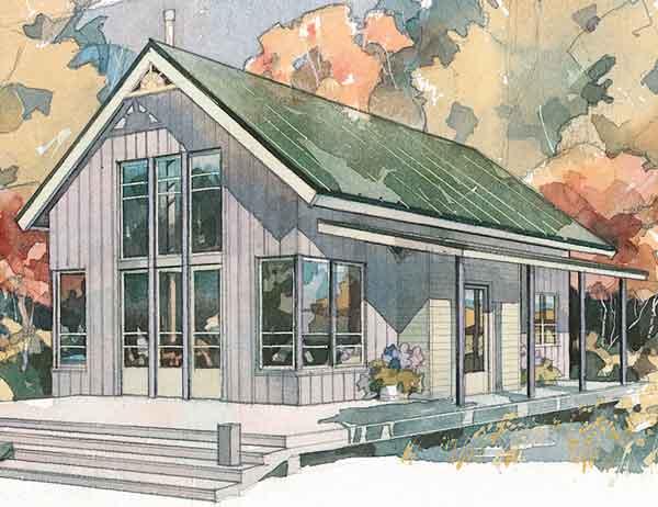 Shoreline Cottage Coastal Living Southern Living House