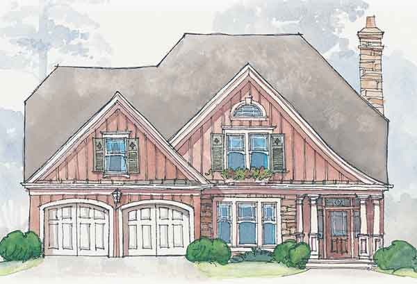 Creston cove bob timberlake inc southern living for Bob house plans