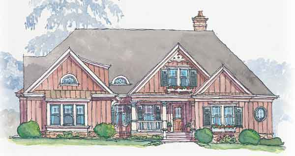 Briarcliff bob timberlake inc southern living house for Bob house plans