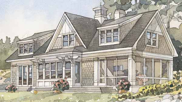Bay House Plans top 10 house plans - coastal living