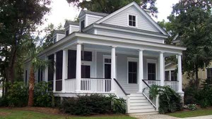 beaufort cottage sl 1136 - Greek Revival Cottage