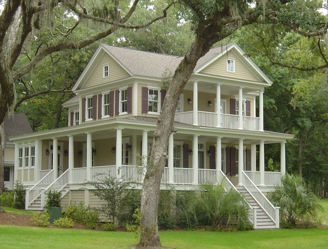 Winnsboro heights moser design group southern living Southern plantation house plans